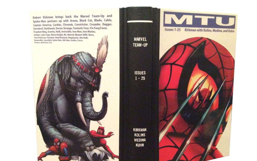 Custom Bound Comic Books