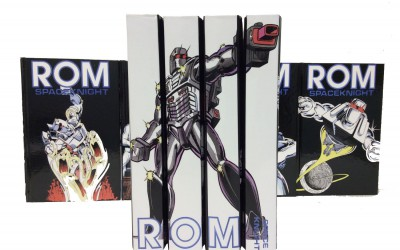 IDW's Chris Ryall commissions custom 'Rom' hardcover set